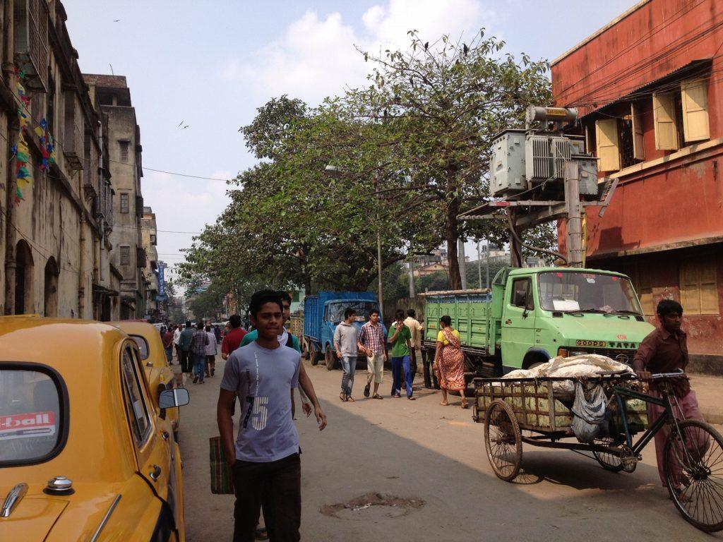 コルカタの街並み